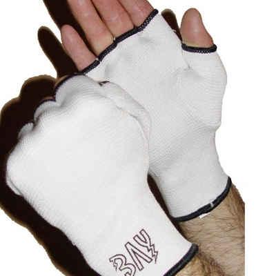 BAY-Sports Boxbandagen »Schlupfbandagen Handbandagen Boxen Kickboxen weiß«