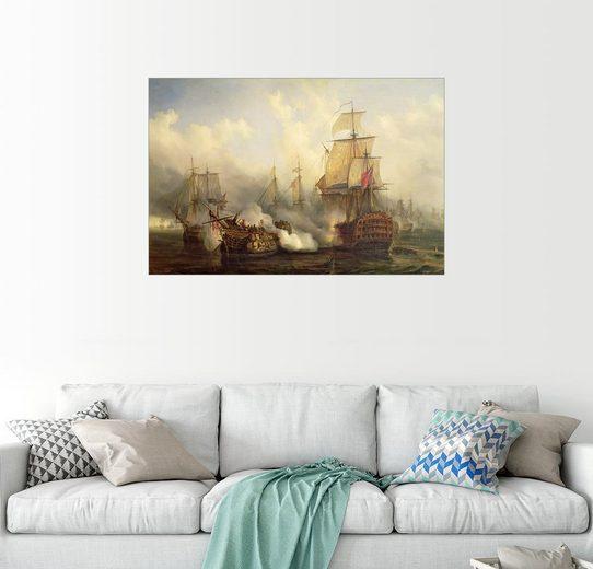 Posterlounge Wandbild, Die Gefürchtete bei Trafalgar