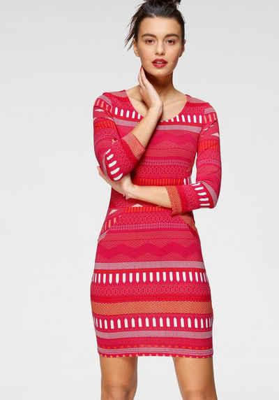 AJC Jerseykleid mit Ethno und Ikat Muster