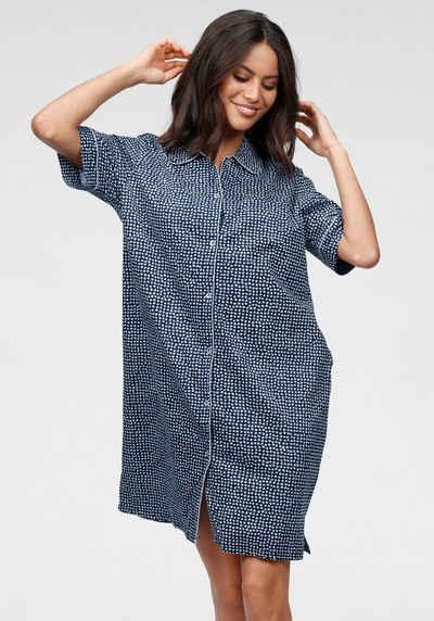 Triumph Nachthemd mit getupftem Muster