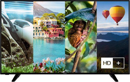 Hanseatic 55H600UDS II LED-Fernseher (139 cm/55 Zoll, 4K Ultra HD, Smart-TV, HDR10, Gratis: 6 Monate HD+ im Wert von 34,50)