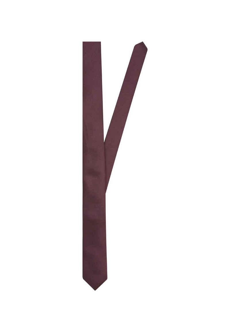 seidensticker Krawatte »Slim« Schmal (5cm) Uni