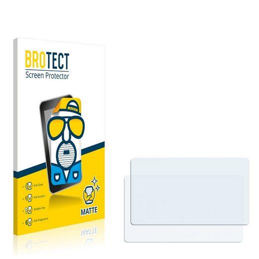 BROTECT Schutzfolie »für Olympus PEN Lite E-PL3«, (2 Stück), Folie Schutzfolie matt entspiegelt