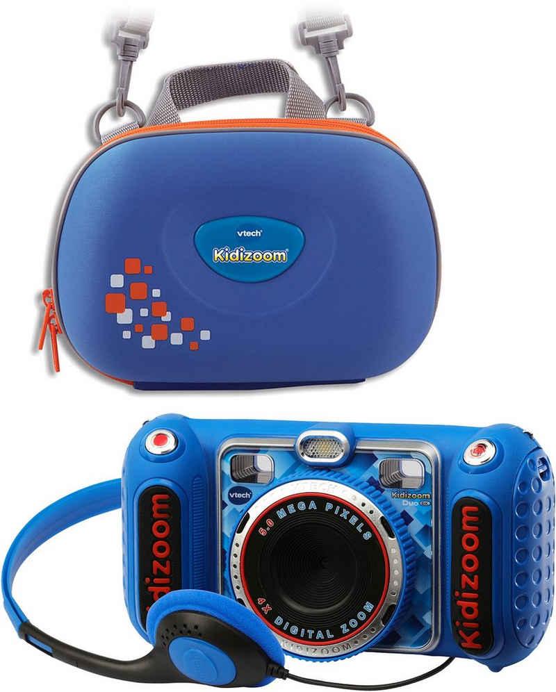 Vtech® »KidiZoom Duo DX, blau« Kinderkamera (5 MP, inkl. Tragetasche)