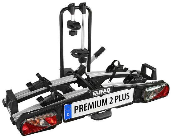 EUFAB Fahrradträger »PREMIUM 2 PLUS«, für die Anhängerkupplung, abschließbar