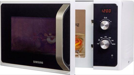 Samsung Mikrowelle MS23F300EEW/EG, Mikrowelle, 23 l