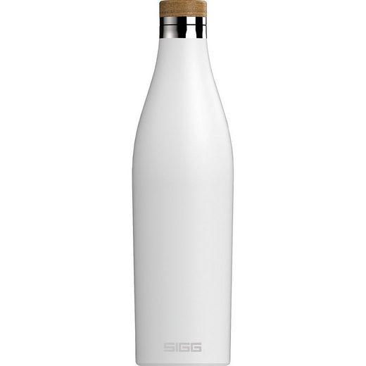 Sigg Trinkflasche »Edelstahl-Trinkflasche DOUBLE WALL Ultra Lemon,«