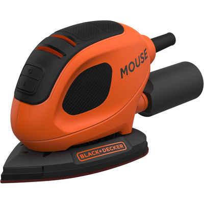 Black + Decker Deltaschleifer »Kompakt-Mouse BEW230K-QS, 55 Watt, Koffer«