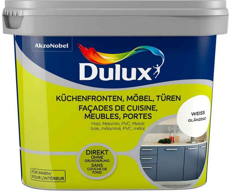 Dulux Holzlack »Fresh Up«, für Küchen, Möbel und Türen, weiß, 0,75 l