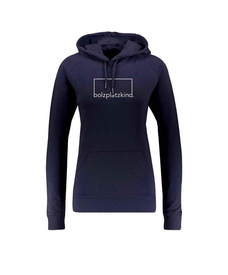 "Bolzplatzkind Sweater »""Bolzplatzkind"" Hoody Damen«"