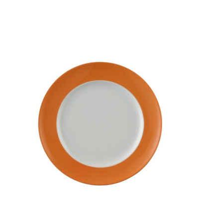 Thomas Porzellan Frühstücksteller »Sunny Day Orange Frühstücksteller 22 cm«, (1 Stück)