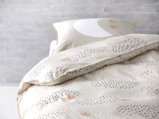 Bettwäsche »KIDS«, Södahl, 100x140cm, Kinderbettwäsche im skandinavischen Look, Baumwolle