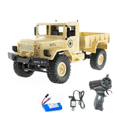 efaso RC-Truck »EFASO 1:16 RC Militärtransporter B-14 LKW Crawler«