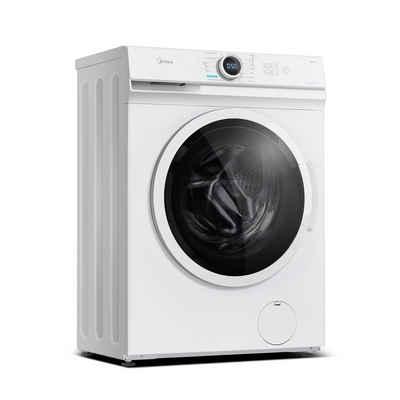 Midea Waschmaschine MF100W70-E, 7 kg, 1200 U/min, 40cm tief Slim Design, Hygiene 90℃, Kaltwäsche, Lunar Dial Kombi-Display