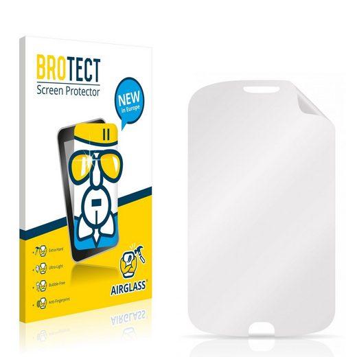 BROTECT Schutzfolie »Panzerglasfolie für Alcatel One Touch OT-990«, Schutzglas Glasfolie klar