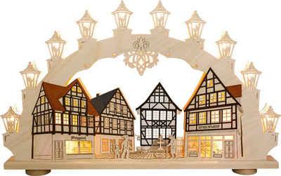 Weigla Schwibbogen »Altstadt«, 15-flammig