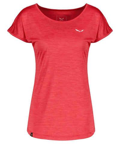 "Salewa T-Shirt »Damen T-Shirt ""Puez Melange Dry'ton""«"
