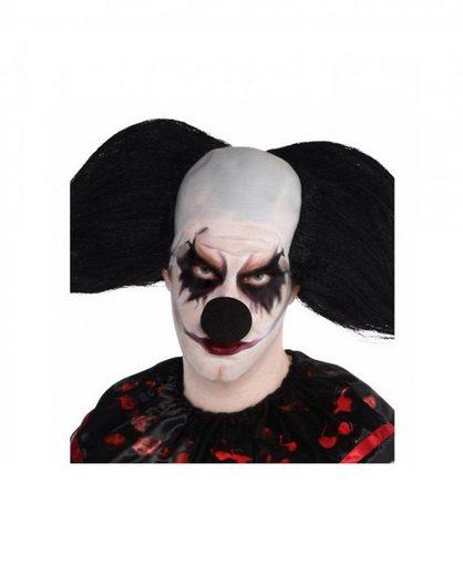 Amscan Kostüm »Schwarze Halloween & Karneval Clownsnase aus Schau«