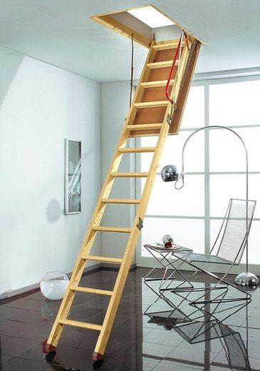 Dolle Bodentreppe »Pur«, für Geschosshöhen bis 285 cm