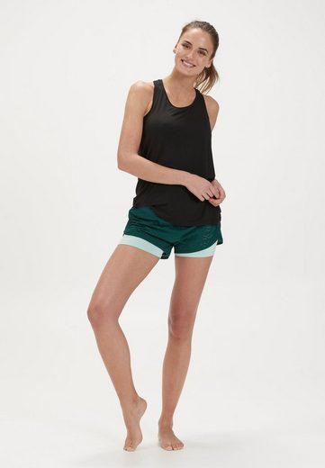 ENDURANCE Shorts »MERIER W 2 in 1 Shorts« mit reflektierenden Details