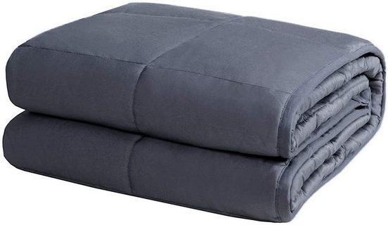Gewichtsdecke, »Beschwerte Decke Gewichtete Decke«, COSTWAY, 104 x 153cm / 3kg