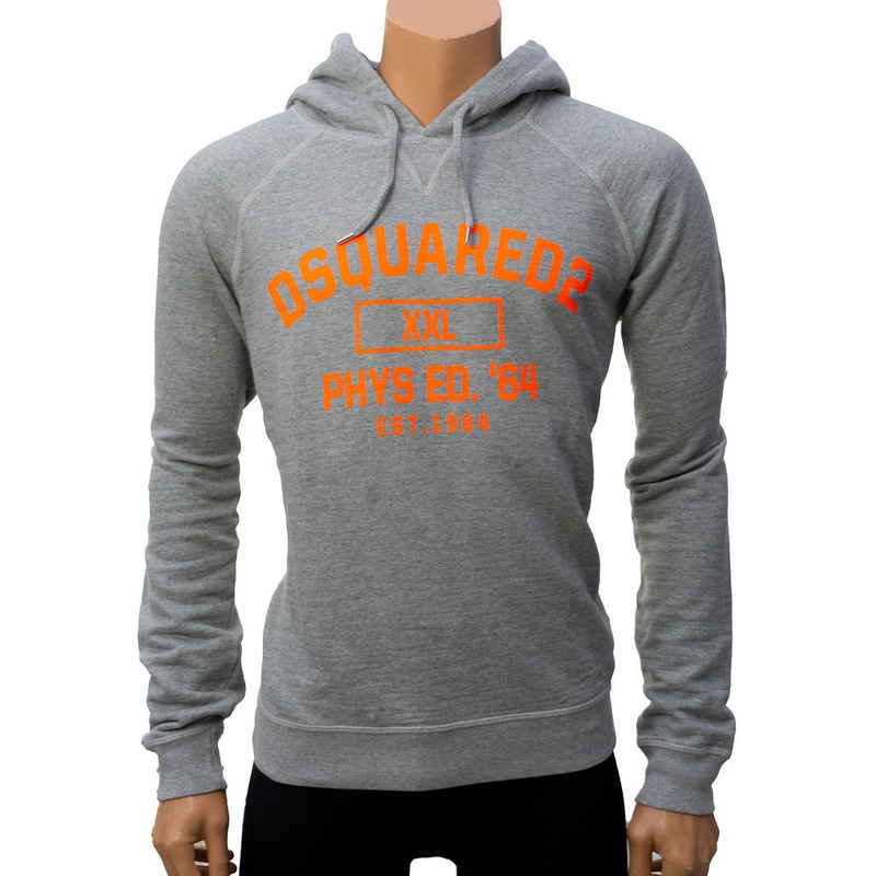 Dsquared2 Kapuzenshirt Grau mit Frontprint