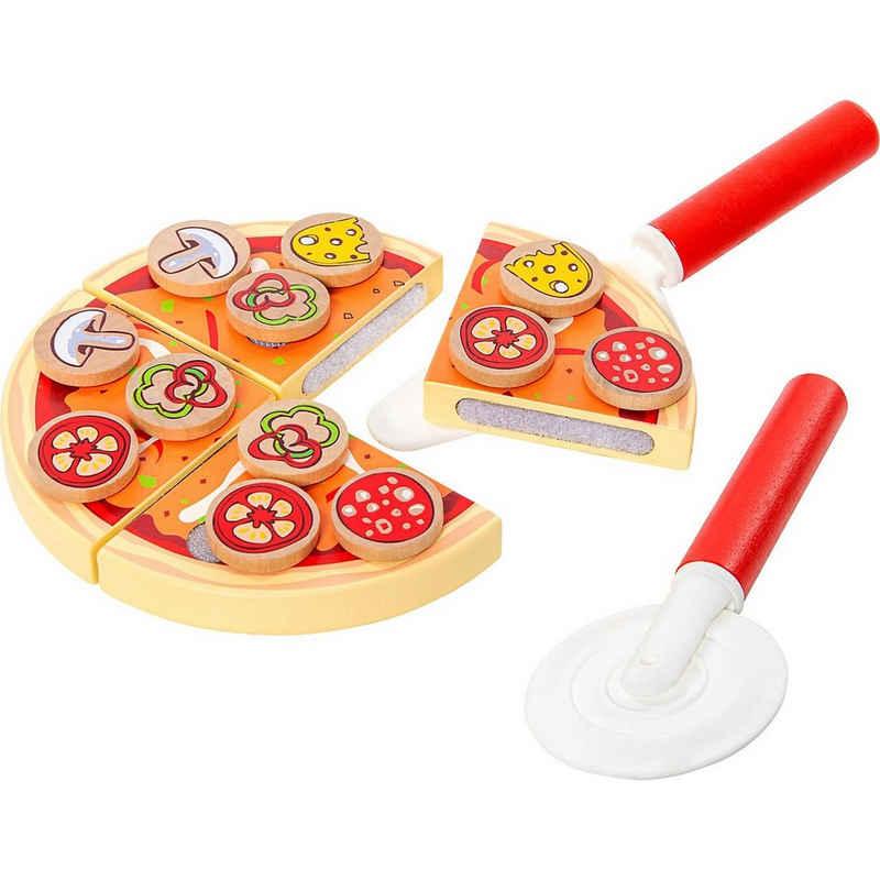 myToys Spiellebensmittel »Pizza zum Schneiden, 19 tlg.«