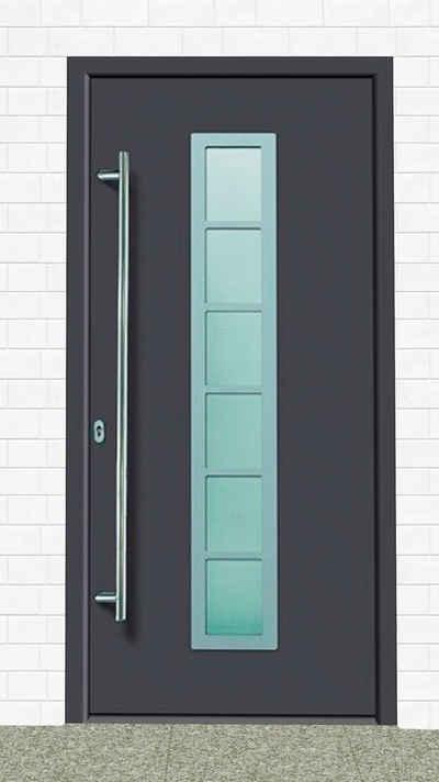 KM Zaun Haustür »A04«, BxH: 98x198 cm, anthrazit, in 2 Varianten