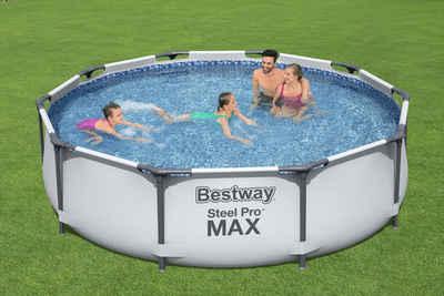 Bestway Rundpool »Steel Pro MAX™ Frame«, ØxH: 305x76 cm