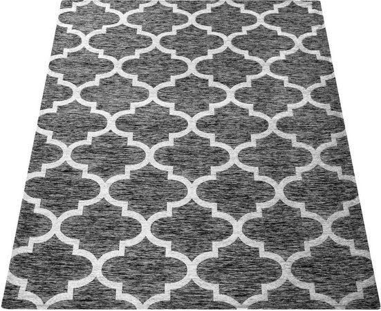 Teppich »Mariba 090«, Paco Home, rechteckig, Höhe 14 mm, Kurzflor mit Marokkanischem Muster