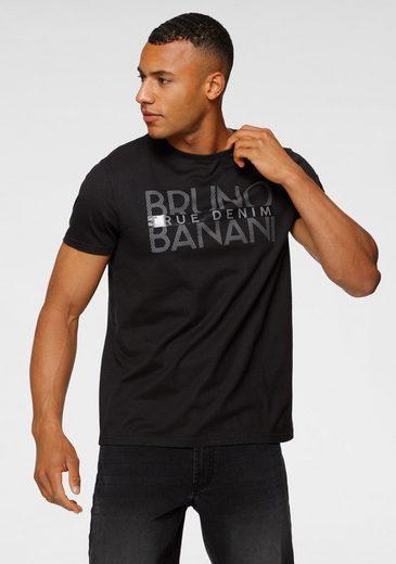 Bruno Banani T-Shirt mit glänzendem Print
