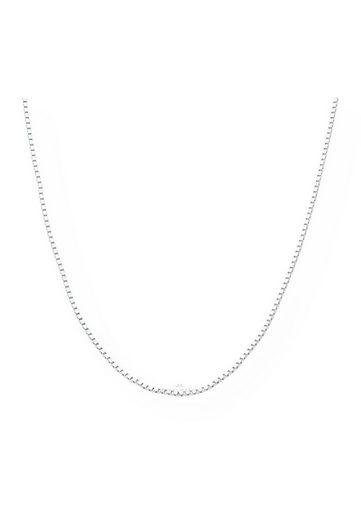 JuwelmaLux Silberkette »Halskette 333/000 (8 Karat) Weißgold Venezia 38 cm«