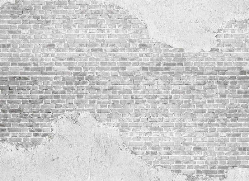 living walls Fototapete »Designwalls Old Brick Wall«, glatt, (5 St)