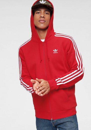 adidas Originals Kapuzensweatjacke »3-STRIPES FZ«