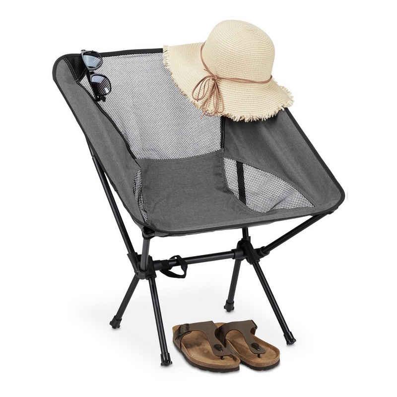 relaxdays Campingstuhl »Campingstuhl ultraleicht«