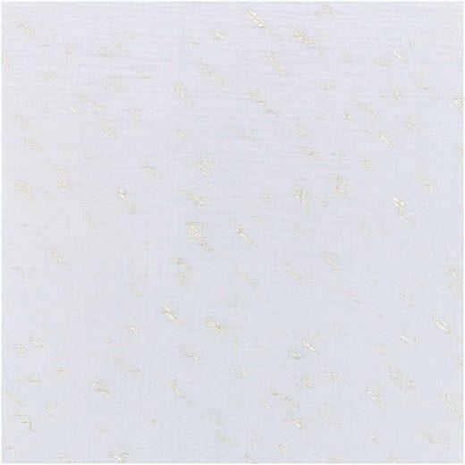 Rico-Design Verlag Stoff »Krinkel-Musselin Wild Stripes-He«, 130 cm breit, Meterware