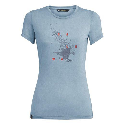 Salewa T-Shirt »T-Shirt Eagle Figure Dry Damen - Salewa«