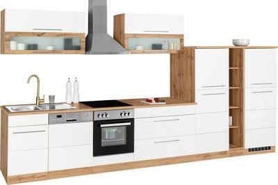 HELD MÖBEL Küchenzeile »Wien«, ohne E-Geräte, Breite 420 cm