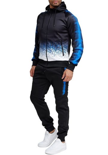 Egomaxx Trainingsanzug »3589«, Herren Slim Fit Trainingsanzug Casual Basic Streetwear Sportanzug