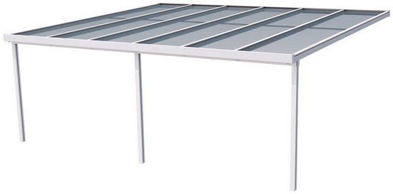 GUTTA Terrassendach »Premium«, BxT: 611x506 cm, Dach Acryl Klima blue