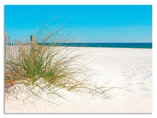 Artland Küchenrückwand »Schöne Sanddüne mit Gräsern und Zaun«, (1-tlg) günstig online kaufen