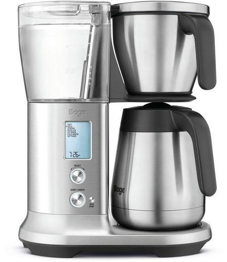 Sage Filterkaffeemaschine the Precision Brewer Thermal SDC450BSS, 1,8l Kaffeekanne, Korbfilter