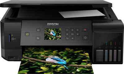 Epson EcoTank ET-7700 WLAN-Drucker, (LAN (Ethernet), WLAN (Wi-Fi)