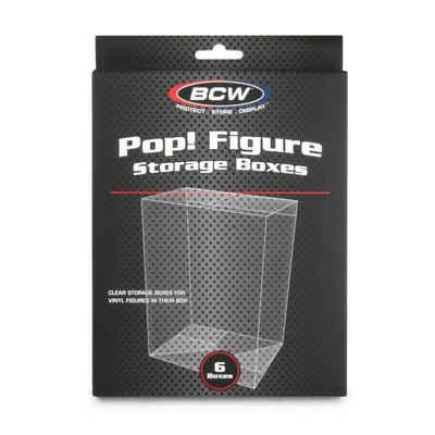 Funko Sammelfigur »BCW - Funko Pop! Figur Protektoren - Schutz, Aufbewahrung und Präsentation« (6 Stück)