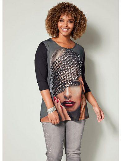 Angel of Style by HAPPYsize Shirt mit femininem Druckmotiv