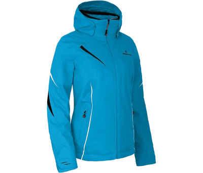 Bergson Skijacke »DESTINY« Damen Skijacke, wattiert, 12000 mm Wassersäule, Kurzgrößen, Ozean blau