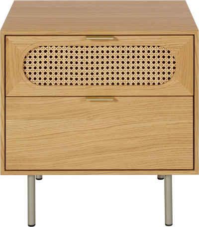 andas Nachtkommode »Liselle«, Design by Morten Georgsen, mit Wiener Geflecht