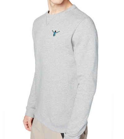 Chiemsee Sweater »CHIEMSEE Eagle Rock Sweater angenehm zu tragender Herren Rundhals Pullover Pulli Grau«
