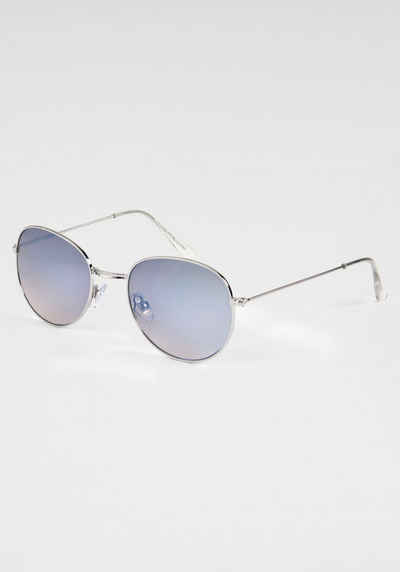 BASEFIELD Sonnenbrille mit leicht verspiegelten Gläsern
