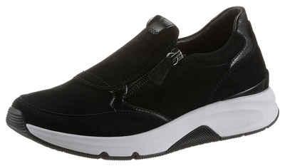 Gabor Rollingsoft Sneaker mit seitlichem Reißverschluss